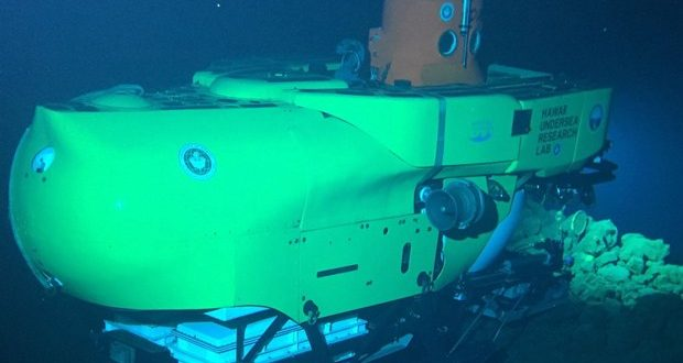 UH and Conservation International dive on unexplored seamounts near Hawaiʻi