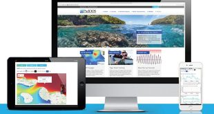 Explore the new PacIOOS website from mobile device or laptop.