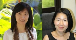Drs. Hey-ryeon Lee (left) and Kate Lee