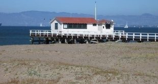 NOAA's San Francisco tide gauge station, one of the world's longest records of ocean water level.