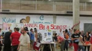 Be A Scientist Night at IHS 2015.