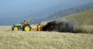 California rancher applies compost