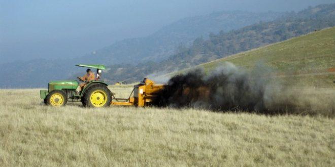 California rancher applies compost