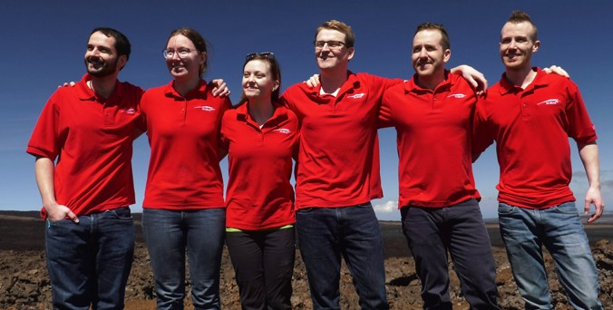 HI-SEAS Mission V crew