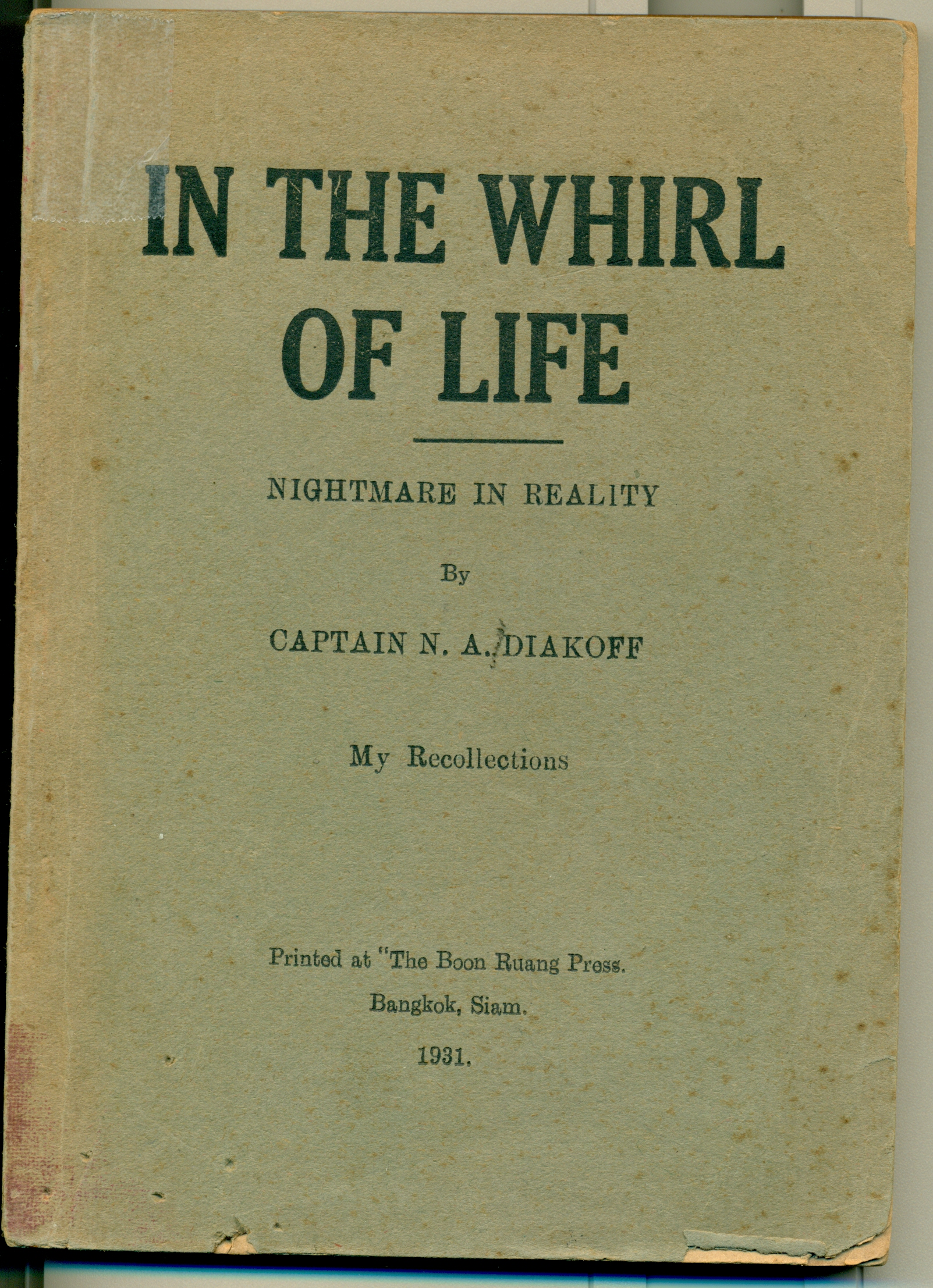 Cover of In the Whirl of Life