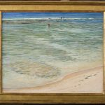 Kona Shore oil by D. Howard Hitchcock