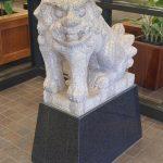 Shinto Lion dog sculpture