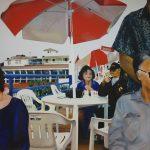 Acrylic on canvas by Sam Redspoon