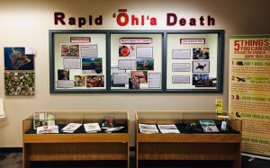 Rapid Ohia Death Exhibit
