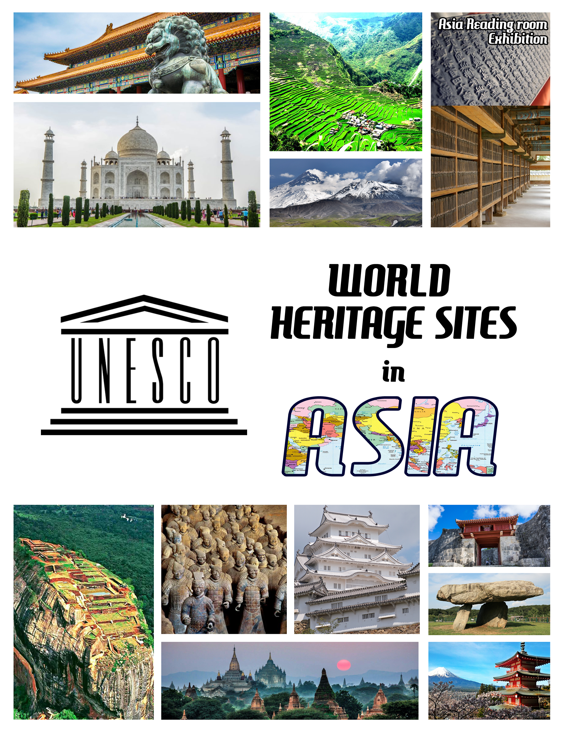UNESCO World Heritage Sites in Asia