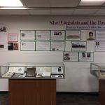 Nisei Linguists Exhibit Display. Image 1 of 3