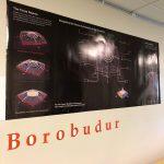 Close up of Borobudur poster