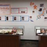 Posters and display cases for Washoku exhibit - Washoku