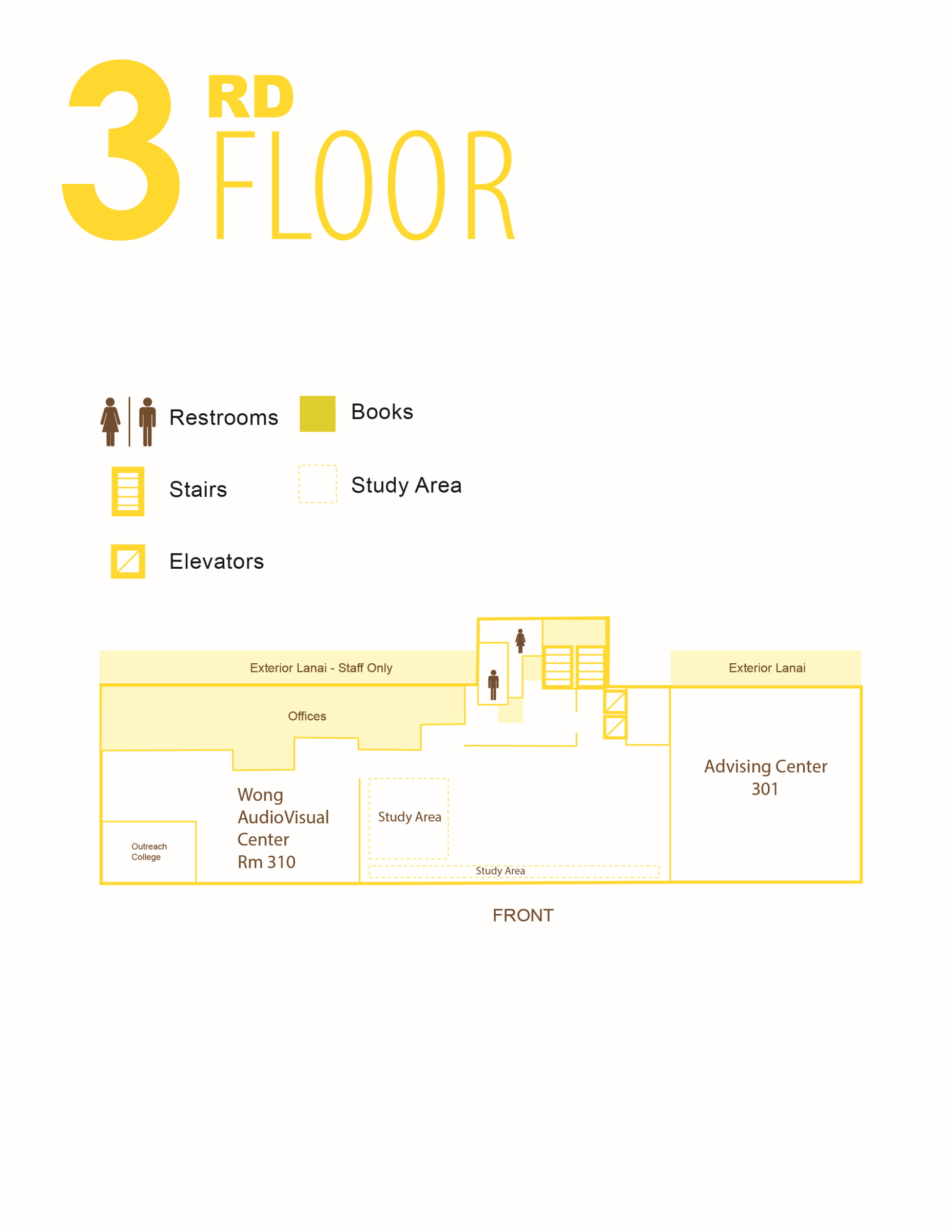Sinclair third floor map