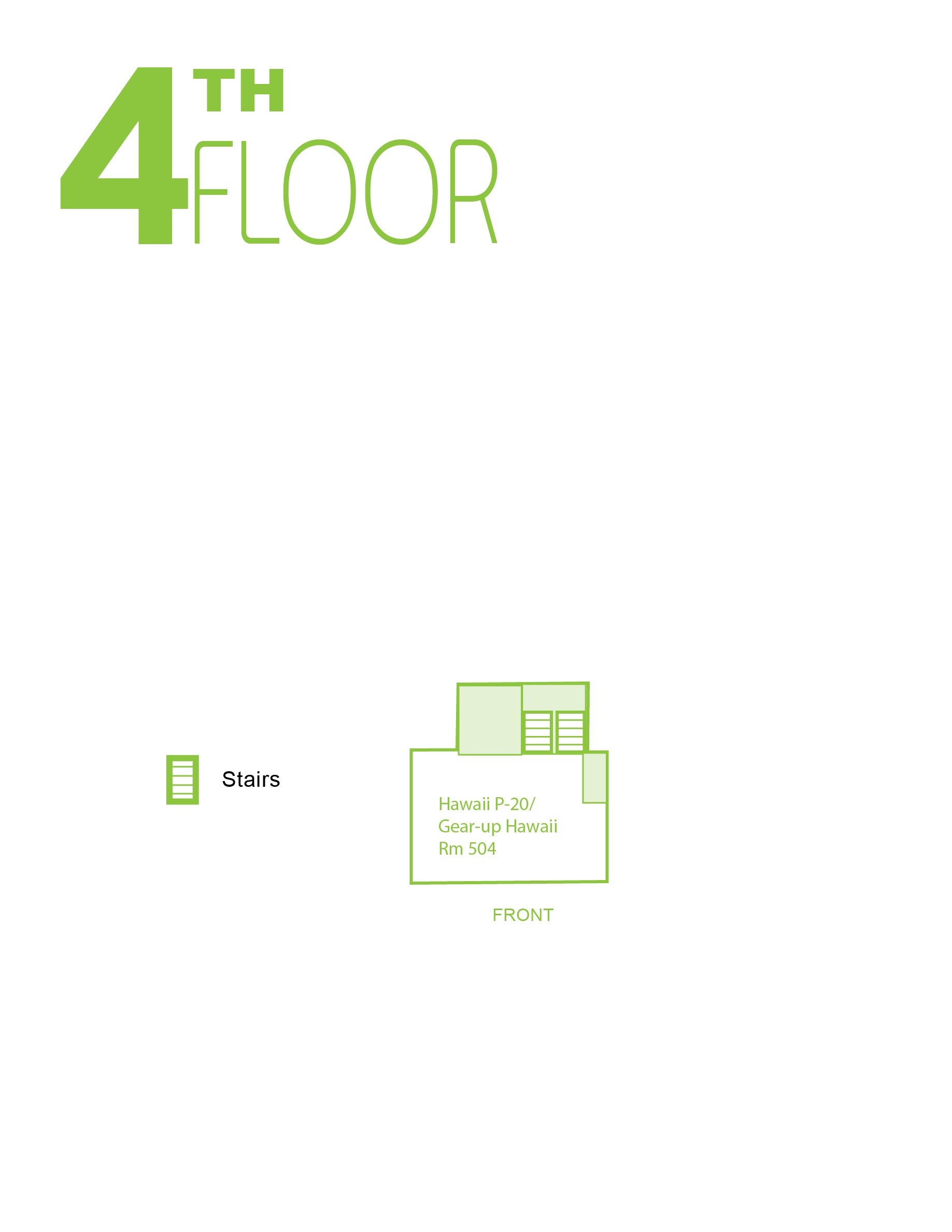 Sinclair fourth floor map
