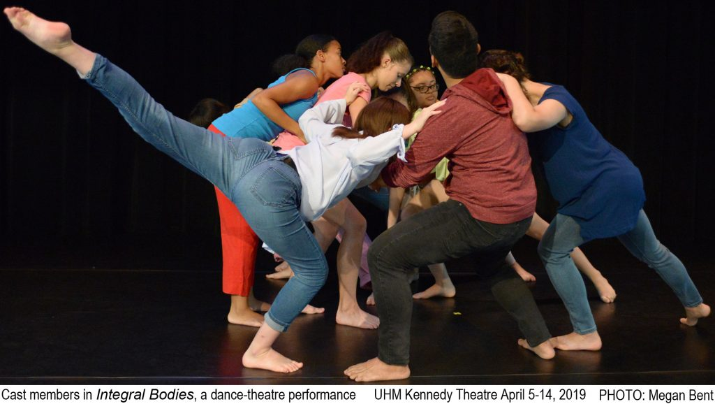 Publicity photo for Integral Bodies featuring cast