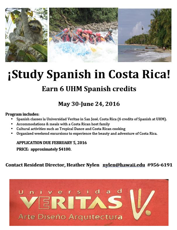 Can I get a grant for a study abroad in Costa Rica?