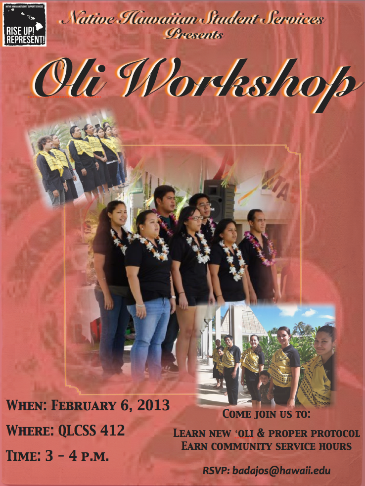 community service opportunities  u2013 native hawaiian student services