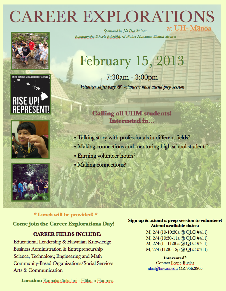 community service opportunities  u2013 native hawaiian student
