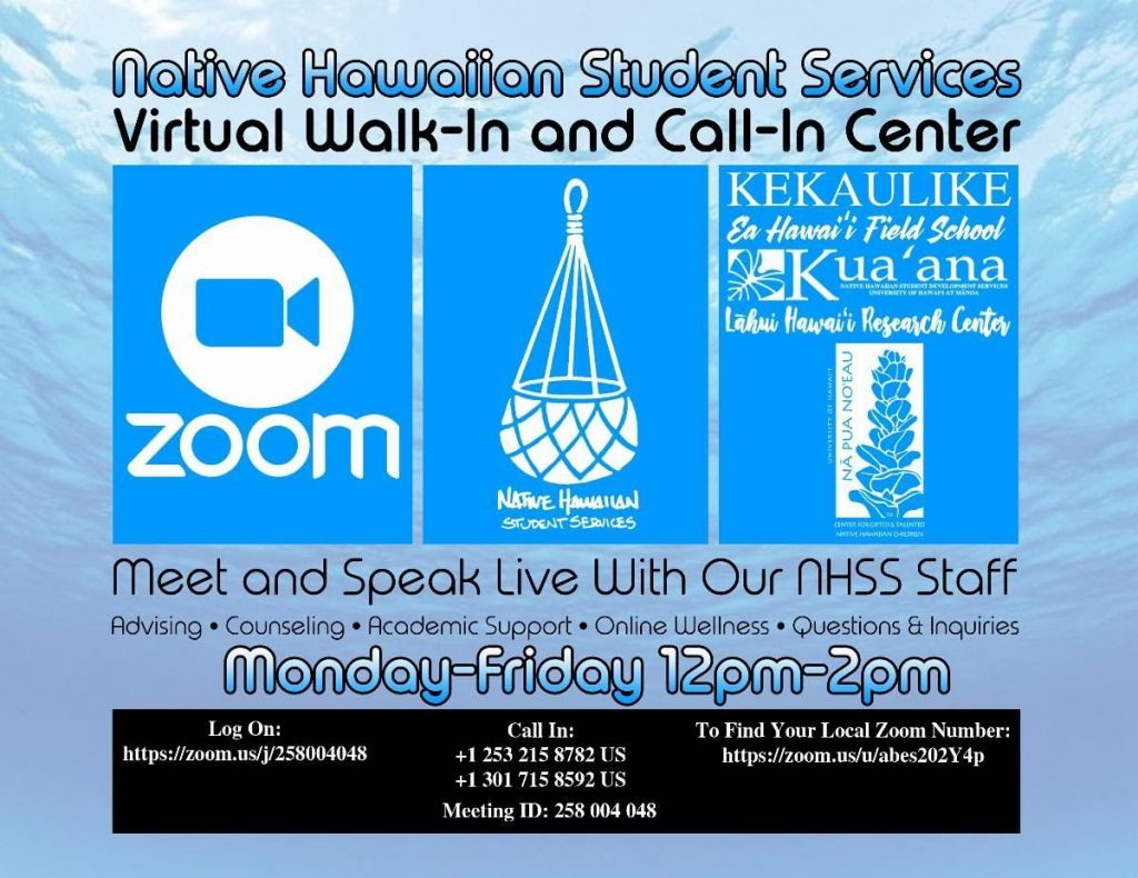 virtual walk-in & call-in center flyer Join Zoom Meeting https://zoom.us/j/258004048