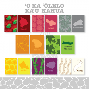 Graphic: Olelo game, match plants with islands