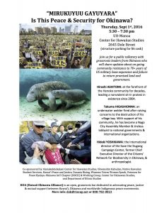 Sept 1_Okinawa activist flyer
