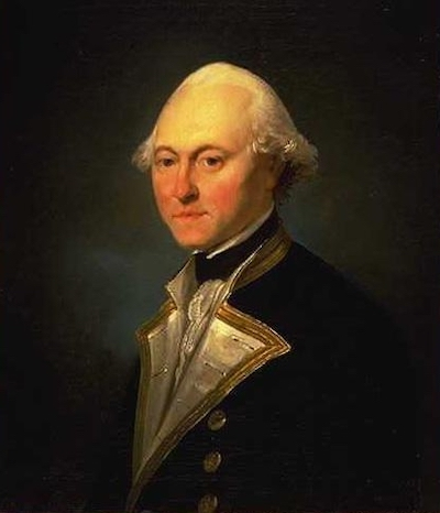 <p>Fig. 1. Lieutenant James King served under James cook in the 1770's.&nbsp;</p>