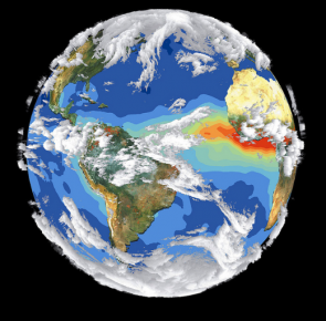 <p>Fig. 4. Climate represents weather conditions over long periods of time.</p>