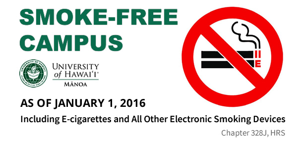 smoke free campus The tobacco free campus policy is part of the university's commitment to creating a healthy campus for all members of our campus community, and is designed to be positive and supportive of overall health and well-being.