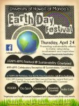 2014 Earth Day Festival Flyer