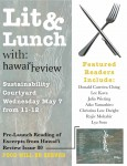 Hawaii Review Lit&Lunch Flyer