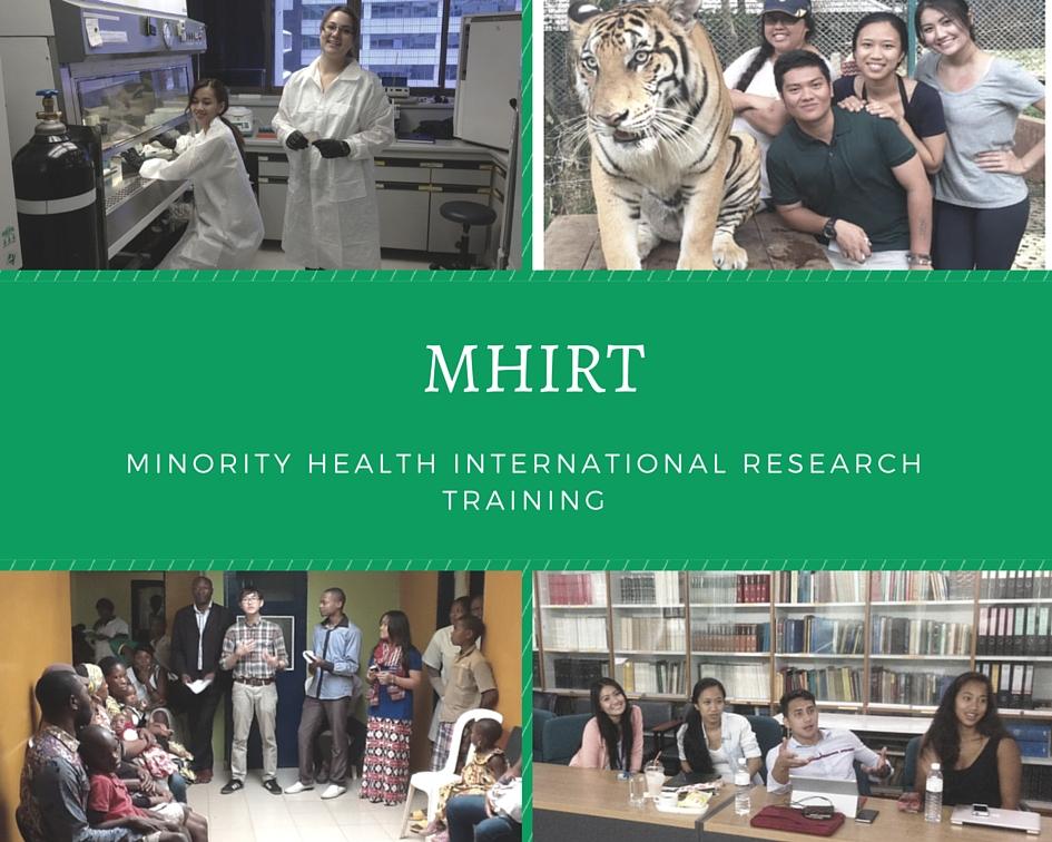 Decorative photos MHIRT participants