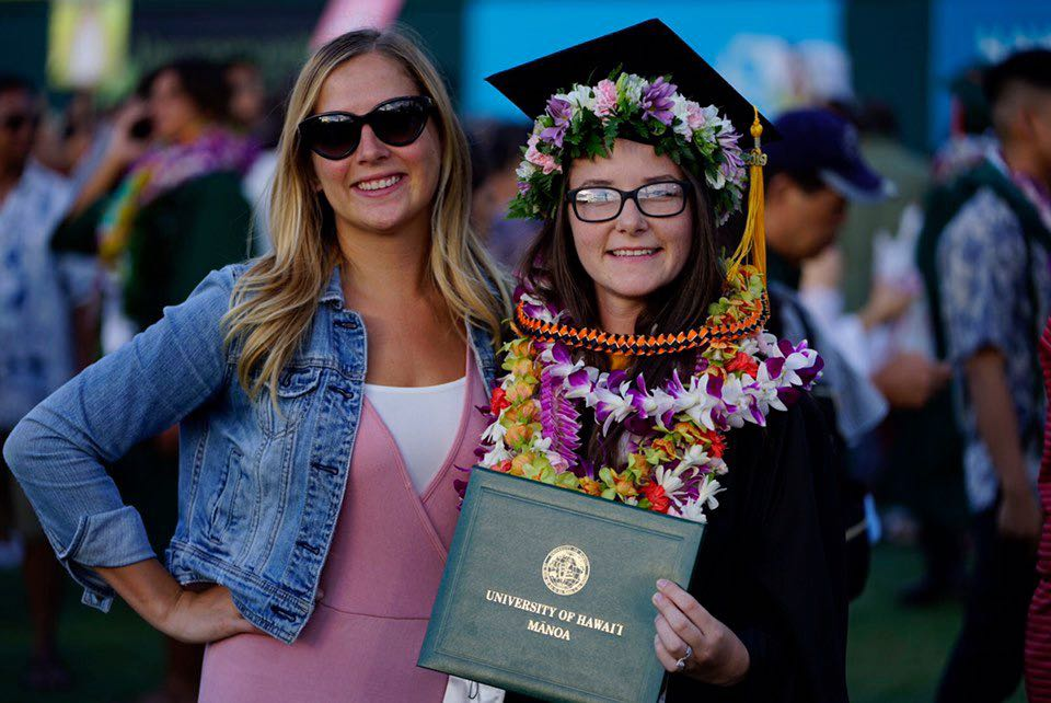 Kaitlin Driesse and Shannon Stone - Summer Commencement 2019