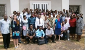 Malaria research team at the Biotechnology Centre, University of Yaounde 1, Cameroon.