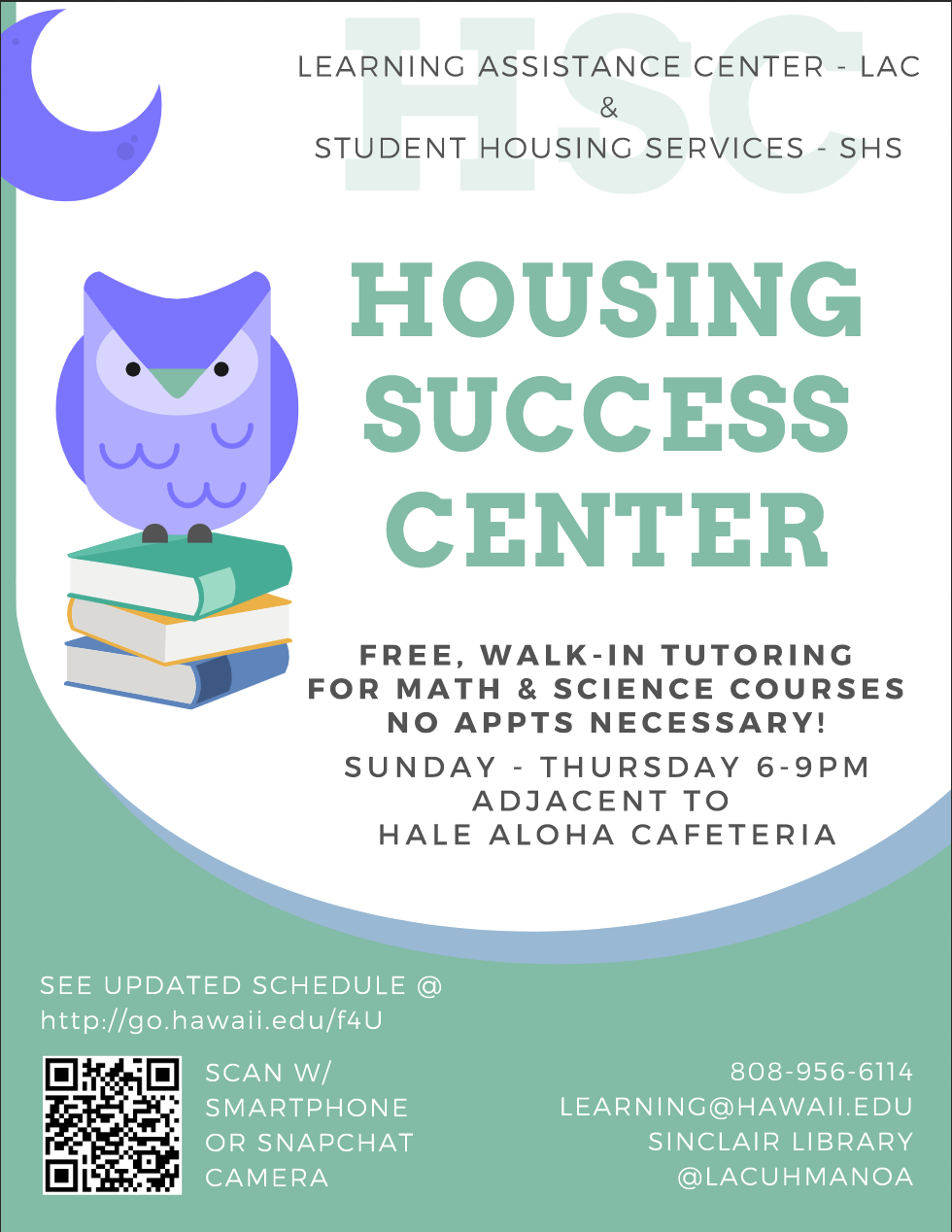 Housing Success Center Flyer
