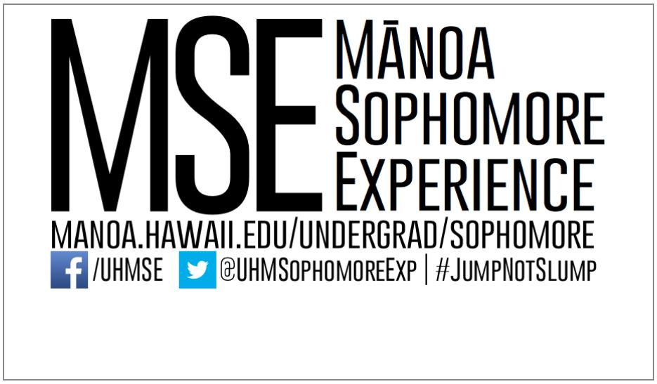 Mānoa Sophomore Experience
