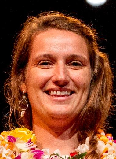 2016 award winner Keisha Bahr