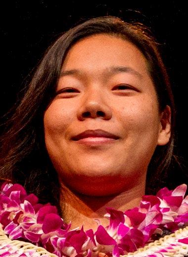 2016 award winner Mandy Chen