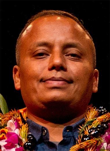 2016 award winner Ashok Das