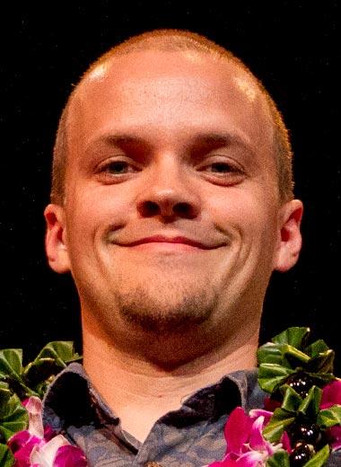 2016 award winner Ryan Gough