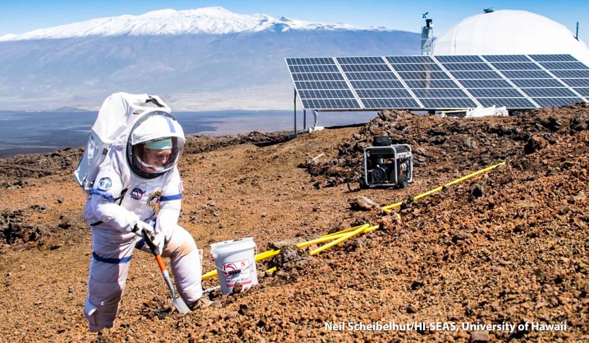 HI-SEAS scientists emerge from isolated dome on Mauna Loa