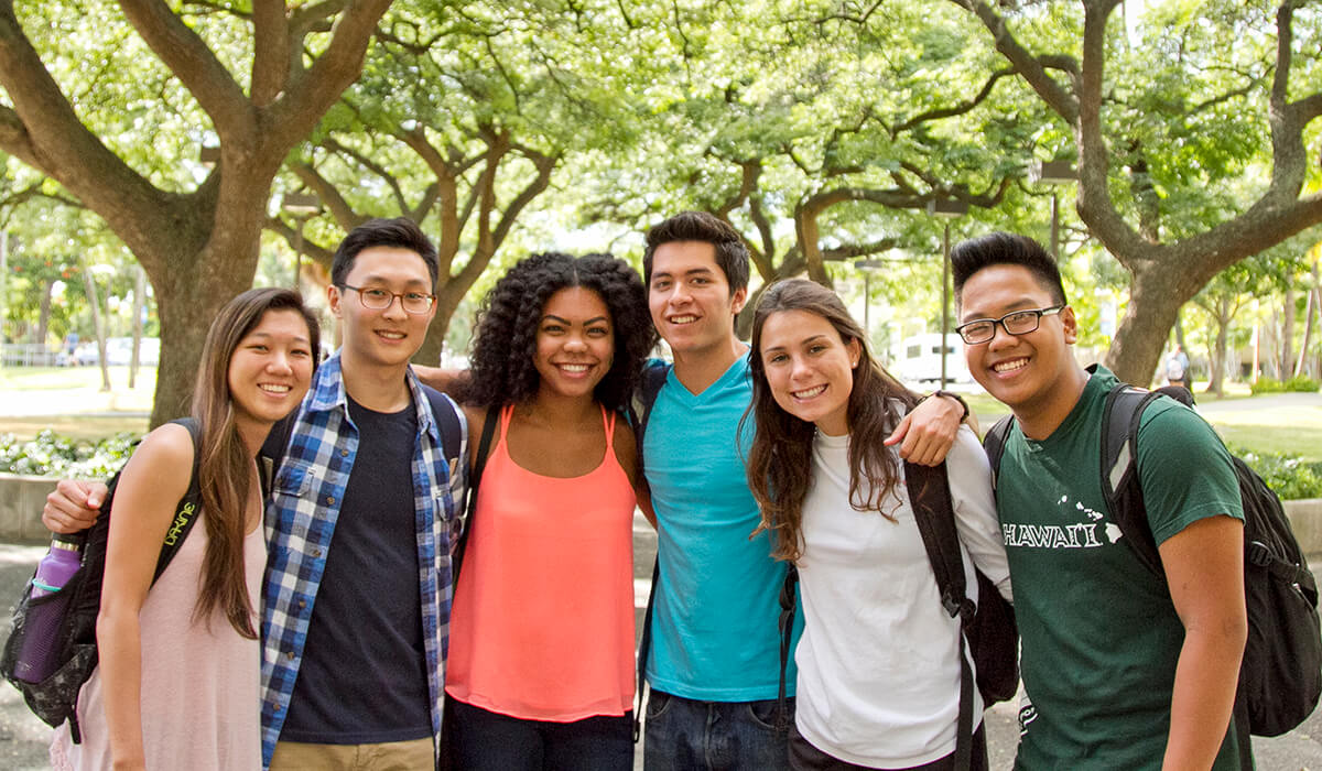 UH Mānoa boasts one of the most-diverse student bodies in the world