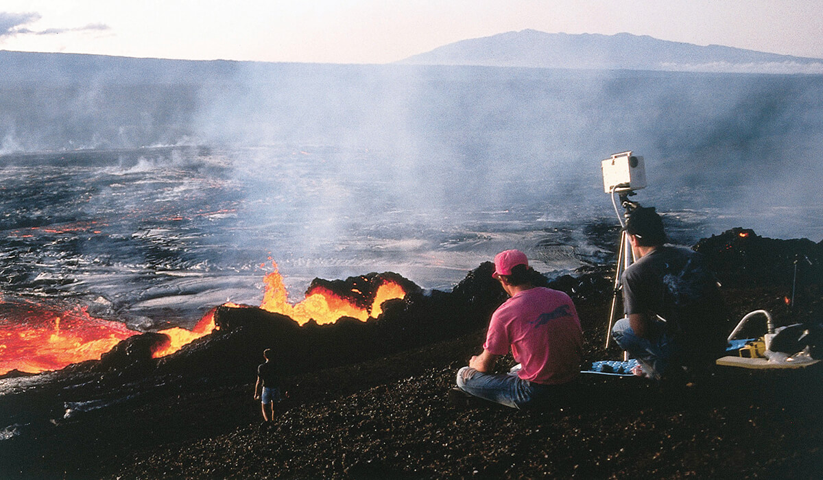 Volcanology, Geochemistry, and Petrology (VGP) is one of the university's many research units