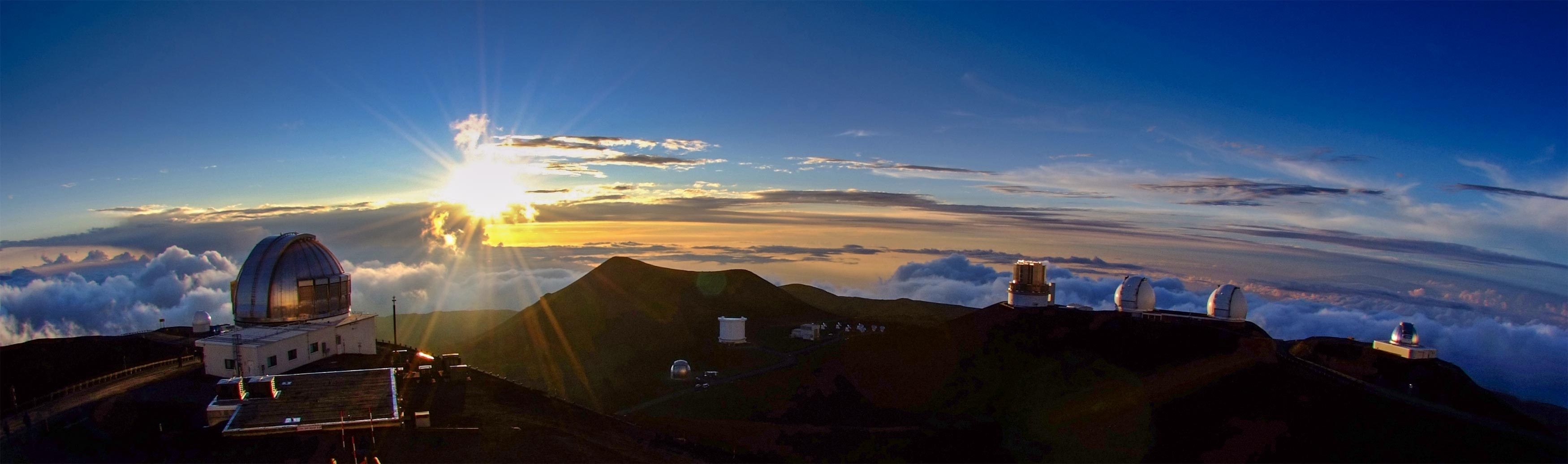 Some of the world's best observatories are located on Mauna Kea