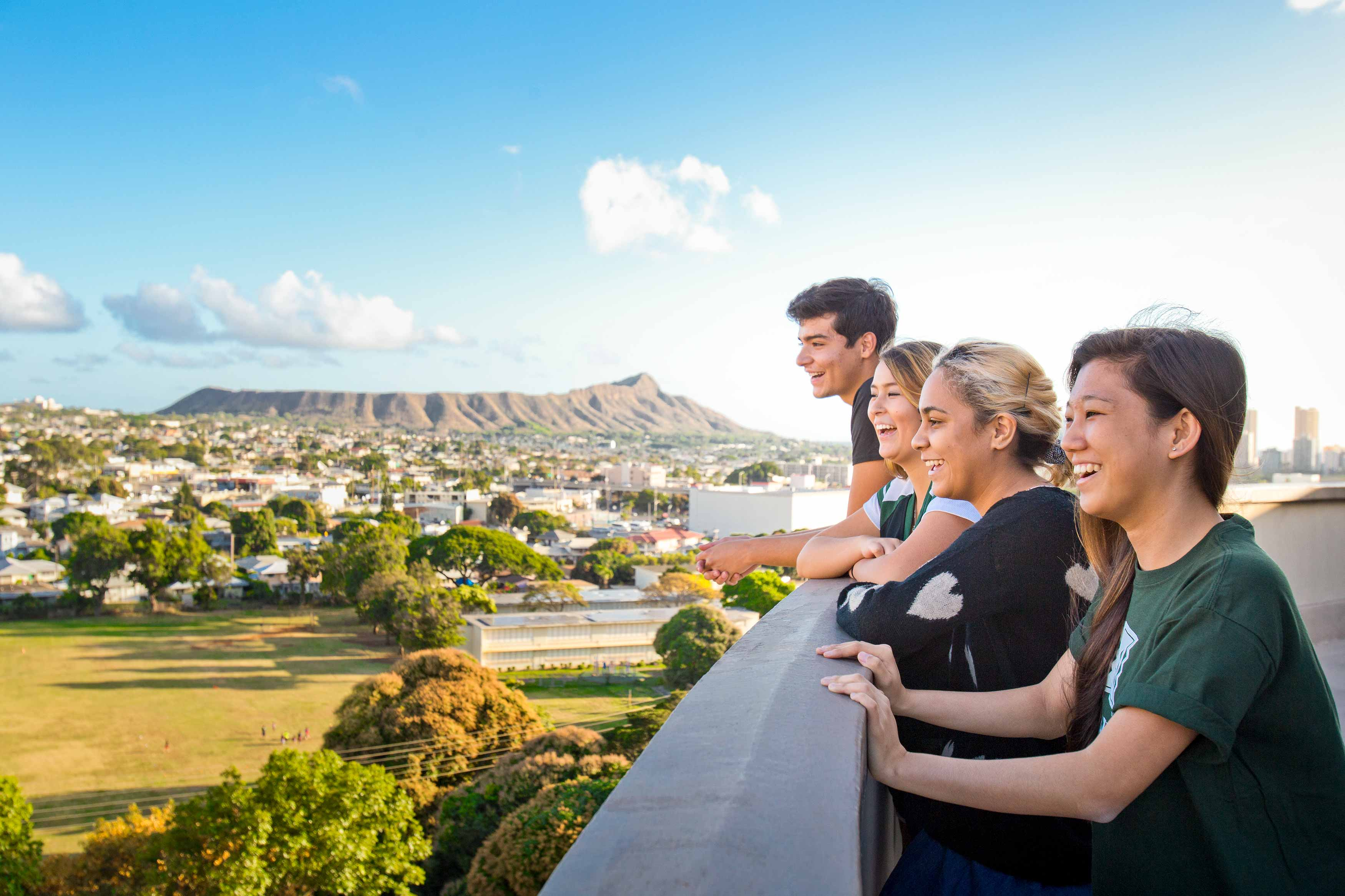 UH Manoa students enjoy a world-class education in a place that most people only dream of visiting