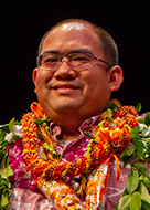 University of Hawaii at Manoa Chancellor's Award for Outstanding Service awardee Jameson Ramelb