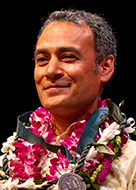 UH Board of Regents' Medal for Excellence in Research awardee Samir Khanal