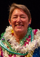 University of Hawaii at Manoa Chancellor's Award for Outstanding Service awardee Valerie Yontz