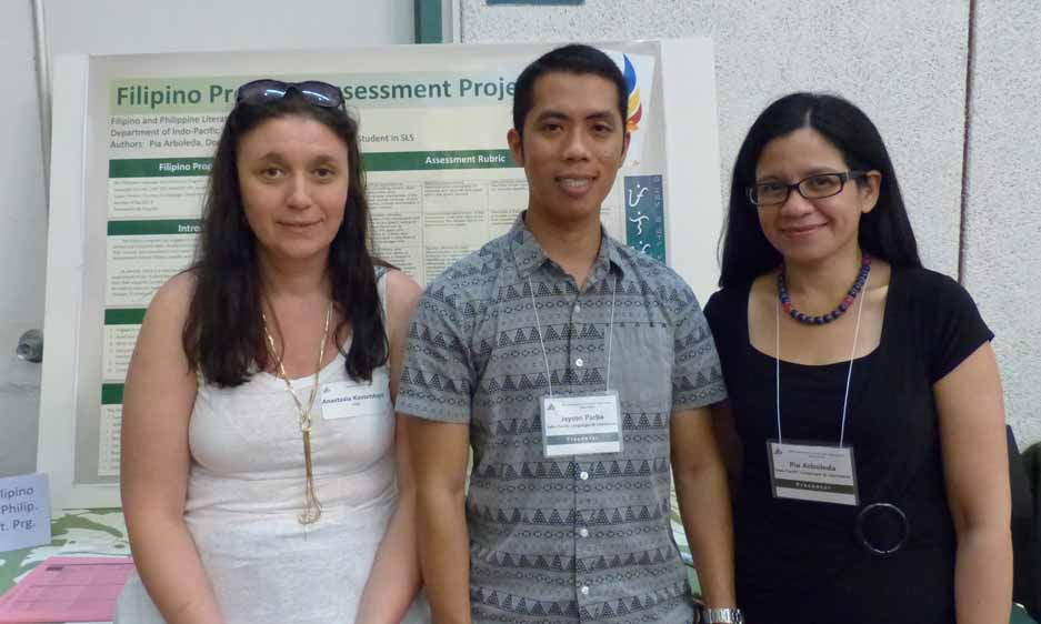 The Filipino program has engaged in assessment activities in the past but these efforts are limited and uncoordinated. Student learning outcomes are assessed by individual faculty in their courses but assessment tools are not standardized within the Filipino program. These assessments do not follow a specific and unified plan at the program (or departmental) level. There is also a need to move from indirect assessment (exit surveys) to direct assessment of our student learning outcomes. We also need an assessment plan at the program level that supports current assessment activities done at the classroom level. These results will be used to improve teaching strategies and assignments, and to propose/implement curriculum changes, as needed. The Filipino Program Assessment Project's main goals are (1) to confirm and/or tweak the program's student learning outcomes, (2) to review and reformat the curriculum map, and (3) to create and implement a signature assignment for 300-400 level courses and use this as evidence for direct assessment. The poster will present the process and results of the assessment project as well as reflections on strategies that helped to accomplish our goals.
