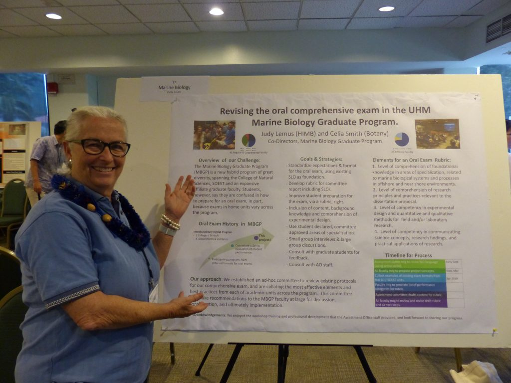 The Marine Biology Graduate Program has established an ad-hoc committee to review existing protocols of the comprehensive exam and is collating the most effective elements and best practices from each of academic units across the program. This committee will make recommendations to the MBGP faculty at large for discussion, consideration, and ultimately implementation.